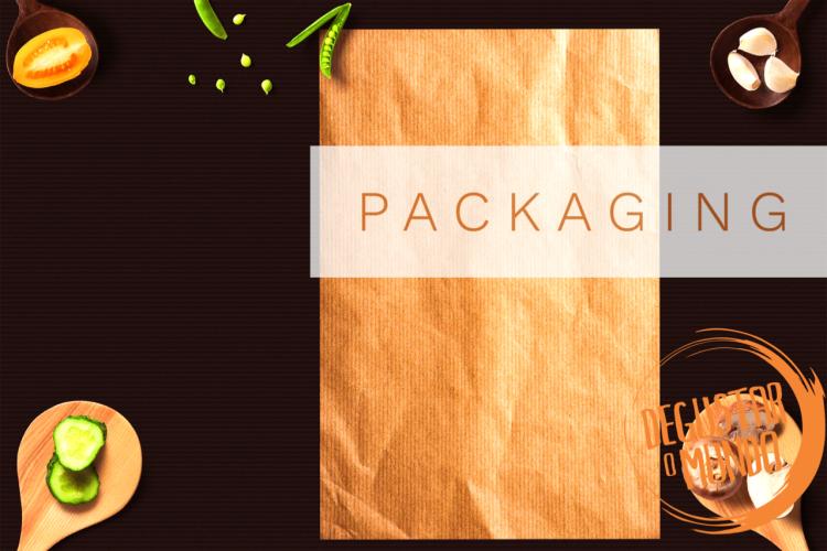 Création de Packaging, design graphique restaurant
