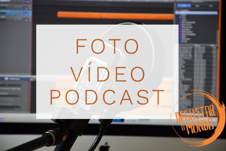 Produção de video, foto e audio